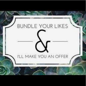 Bundle your likes and I will make you an offer